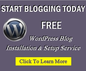 Blog Installation And Set Up Service