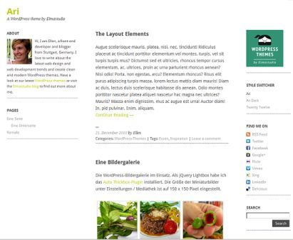Ari Free WordPress Responsive Theme