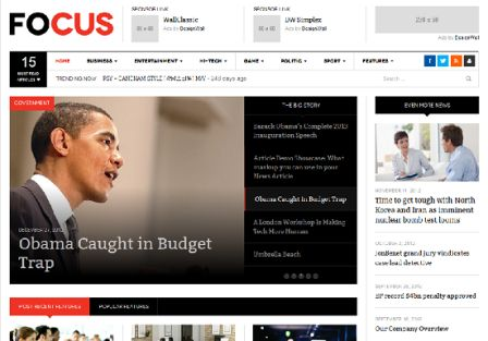 DW Focus wordpress responsive theme