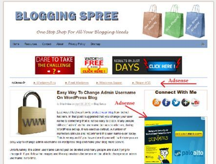 Monetizing a blog with Google Adsense