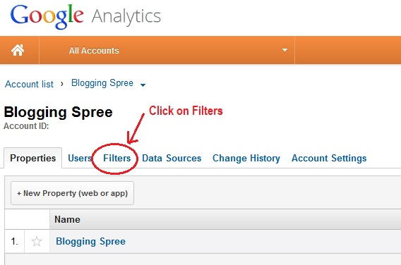 How to stop google analytics to include my visits