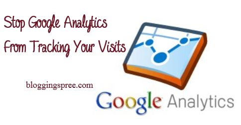 Google Analytics tracking visits
