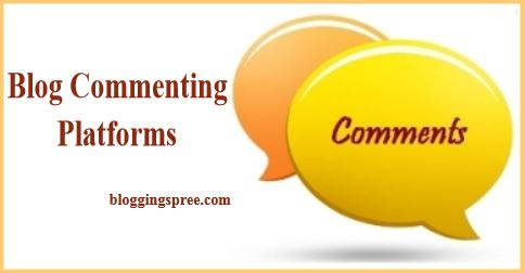 blog commenting platforms