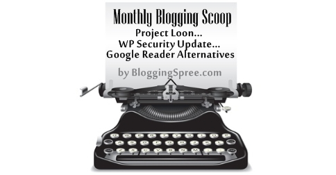 Monthly blogging scoop June 13