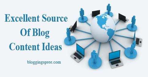 fource for blog content ideas