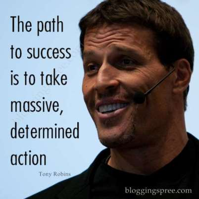 action is a path to success