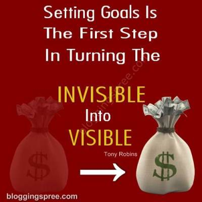 Goal setting leads to succes