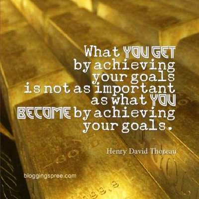 goal setting quotes Henry Thoreau