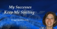 my successes keep me smiling