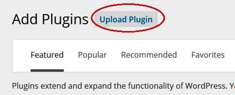how to install plugins from computer