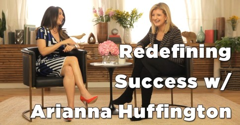 Marie Forleo Interviews Arianna Huffington – Video