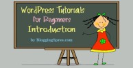 WordPress tutorial introduction
