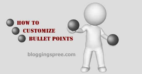 how to customize bullet points featured image